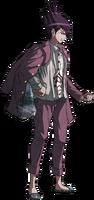 Danganronpa V3 Kaito Momota Fullbody Sprite (45)