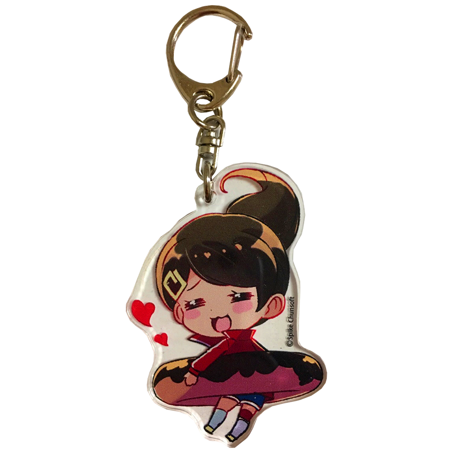 Takara Tomy Danganronpa ASAHINA AOI Strap Mascot keychain Figure