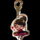 Danganronpa 1.2 Reload Trading Keyholders Aoi Asahina