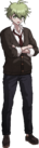 Danganronpa V3 Rantaro Amami Fullbody Sprite (High School Uniform) (3)