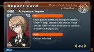 Byakuya Togami Report Card Page 4