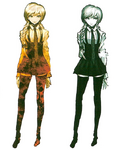 Kyoko Kirigiri Beta Designs Visual Fanbook