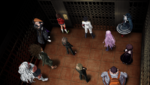 Danganronpa 1 CG - Class Trial Elevator (Chapter 2)