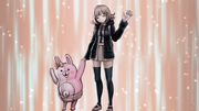 Danganronpa 2 CG - Monomi and Chiakis Execution