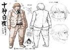 Danganronpa 2 Character Design Profile Byakuya Togami