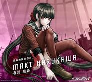 Digital MonoMono Machine Maki Harukawa Android wallpaper