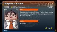 Hifumi Yamada Report Card Page 3