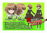 Promo Profiles - Danganronpa the Animation (Japanese) - Chihiro Fujisaki