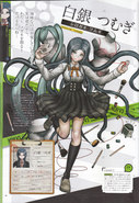 Art Book Scan Danganronpa V3 Tsumugi Shirogane Profile