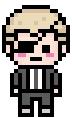 Danganronpa 2 Fuyuhiko Kuzuryu with Eyepatch Pixel
