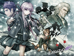 Danganronpa Kirigiri - Volume 3 - Cast Illustration