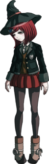 Danganronpa V3 Himiko Yumeno Fullbody Sprite (17)