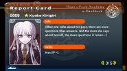Kyoko Kirigiri Report Card Page 3