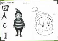 Art Book Scan Danganronpa V3 Character Designs Betas Ryoma Hoshi (6)