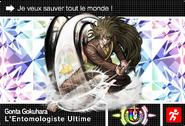 Danganronpa V3 Bonus Mode Card Gonta Gokuhara U FR