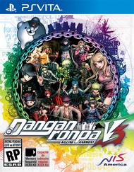 Danganronpa V3 English Box Art PS Vita