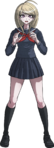 Danganronpa V3 Kaede Akamatsu Fullbody Sprite (High School Uniform) (4)