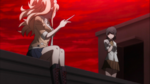 Despair Arc Episode 11 - Junko flicking a knife out