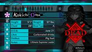 Kokichi Oma Report Card Deceased (For Shuichi)