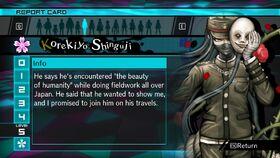 Korekiyo Shinguji Report Card Page 5 (For Shuichi)