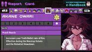 Akane Owari Report Card Skill