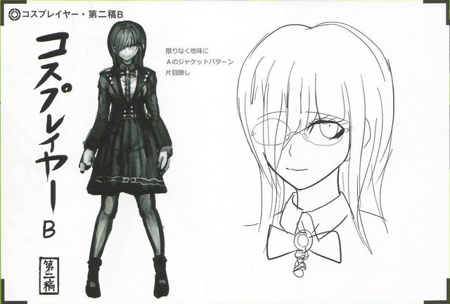 File:Art Book Scan Danganronpa V3 Character Designs Betas Tsumugi Shirogane (4).png
