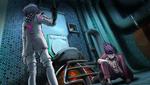 Danganronpa V3 CG - Maki Harukawa attempting to give the antidote to Kaito Momota (3)