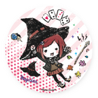 GraffArt Can Badge Himiko Yumeno