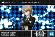 Danganronpa V3 Bonus Mode Card Byakuya Togami N FR