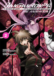 Manga Cover - Danganronpa The Animation Volume 2 (Front) (English)