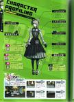 Art Book Scan Danganronpa V3 Kirumi Tojo Character Profiling