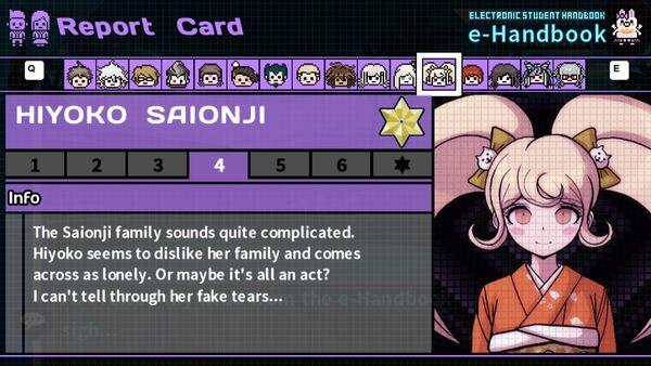 Hiyoko Saionji's Report Card Page 4