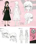 Danganronpa 1 Character Design Profile 1.2 Reload Artbook Toko Fukawa