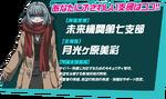 Danganronpa 3 Personality Quiz Japanese Miaya Gekkogahara