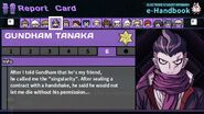 Gundham Tanaka's Report Card Page 6