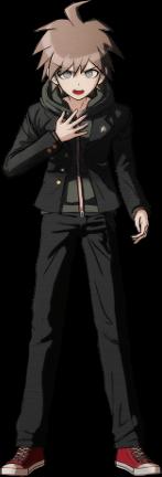 Danganronpa 1 Makoto Naegi Sprite (PSP) 09