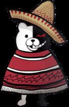 Danganronpa 2 Hidden Monokuma Fullbody Sprite (PSP) (3)
