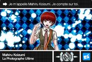 Danganronpa V3 Bonus Mode Card Mahiru Koizumi N FR