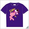 Danganronpa x Mori Chack Tshirt B Purple