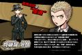 Promo Profiles - Danganronpa 1.2 (Japanese) - Fuyuhiko Kuzuryu