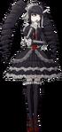 Danganronpa 1 Celestia Ludenberg Fullbody Sprite (PSP) (8)