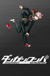 Danganronpa 1 Wallpaper - iPhone - Makoto Naegi