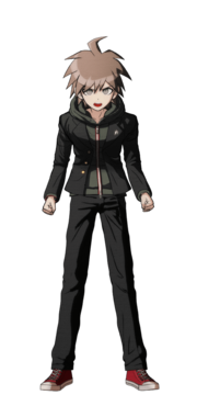 Makoto Naegi Fullbody Sprite 04