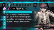 Kaito Momota Report Card Page 1 (For Shuichi)