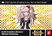 Danganronpa V3 Bonus Mode Card Mukuro Ikusaba S ENG