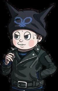 Danganronpa V3 Bonus Mode Ryoma Hoshi Sprite (Redrawn) (3)