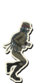 Danganronpa V3 Korekiyo Shinguji Death Road of Despair Sprite 03