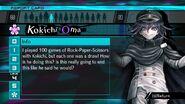Kokichi Oma Report Card Page 4 (For Shuichi)
