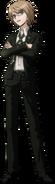 Danganronpa 2 Byakuya Togami Fullbody Sprite (7)