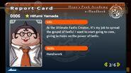 Hifumi Yamada Report Card Page 2